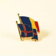 Insigna Romania - Islanda