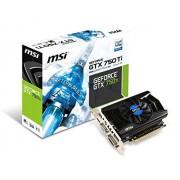 MSI GTX N750 Scheda Video, 2 GB GDDR5, PCIe, Nero/Antracite