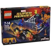 LEGO Super Heroes 76058 - Set Costruzioni Spider-Man: Ghost Rider Si Allea