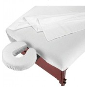 Deluxe Massage Table Flannel 3 Piece Sheet Set - 100% Cotton