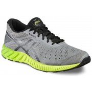 asics fuzeX Lyte Shoe Men Aluminum/Black/Safety Yellow 48,5 Running Schuhe