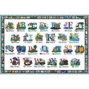 White Mountain Puzzles ABC - 24 Piece Jigsaw Puzzle
