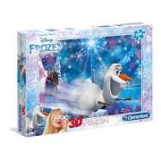 """Clementoni 3D """"Frozen"""" Puzzle (104 Piece)"""