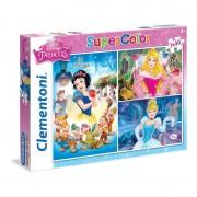 Clementoni - puzzle disney princess - 3 x 48 pz