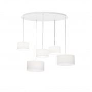 Suspensie EKOS SP5 BIANCO 110851 Ideal Lux