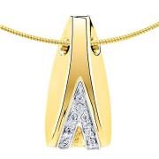 Assieraad mossel met 8 diamantjes