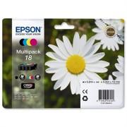 Epson T18064010 Tintapatron mutipack XP 30, 102, 202, 205 nyomtatókhoz, EPSON b+c+m+y, 15,1ml