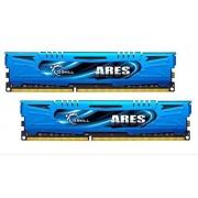 G.Skill G-SKILL Ares F3-1866 C10d-16gab 16 Go (8 Go x 2) DDR3-1866 non ECC mémoire Modules avec faible profil à la chaleur - Bleu