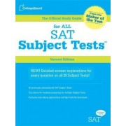 Official Study Guide for All SAT Subject Tests by The College Board