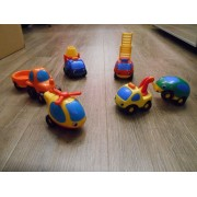 Lot 6 Vehicules Vroom Planet De Smoby