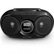 Philips Poste radio CD Noir Philips AZ318B/12