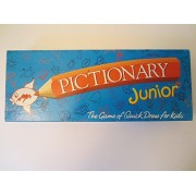 Pictionary Junior; the Game of Quick Draw (1999 Vintage)