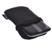 Cosmos Black Neoprene Carrying Protection Sleeve Case Pouch Cover for Microsoft Arc Touch Mouse