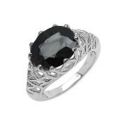 Inel argint 925 cu safir albastru