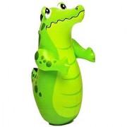 intex Inflatable Bop Bag Crocodile - Hit Me Toy For Children ( Hit me Intex )