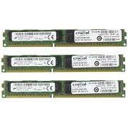 Crucial Mémoire RAM DDR3L (DDR3 SDRAM) 12 Go (3 x 4 Go) PC3-12800 800 MHz Very Low Profile