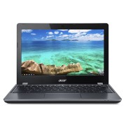 "Ultrabook Acer Chromebook 11 C740, 11.6"" HD, Intel Celeron 3125U, RAM 4GB, eMMC 32GB, Chrome OS, Negru"