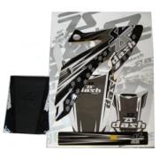 Kit Adesivo Com Capa Banco CRF-230R 06/07 Styled (Cores) Dash