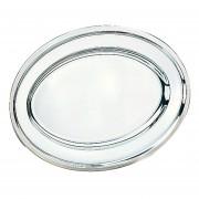 Charola O Bandeja De Acero Inoxidable IBILI Mod. 710040-plata