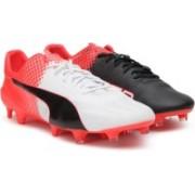 Puma evoSPEED SL II FG Football Shoes(Black)