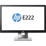 "Monitor IPS LED HP EliteDisplay 21.5"" E222, Full HD (1920 x 1080), HDMI, DisplayPort, VGA, 7 ms (Negru)"