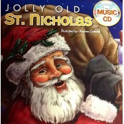 Jolly Old St. Nicholas ~ Holiday Christmas Sing Along Book & Music Cd With 10 Songs