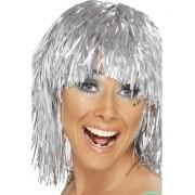 Peruca Party argintie