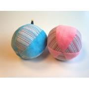 Plüss labda babajáték, rózsaszín