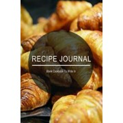 Recipe Journal by Blank Books Journals