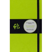 Moleskine Shanghai Tang Limited Edition Snake Ruled Green Large Notebook
