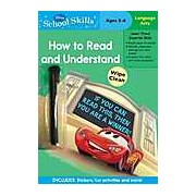 Disney School Skills: Cars How to Read and Understand