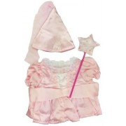 "Stuffems Toy Shop Pink Princess Outfit Fits Most 14"" - 18"" Build-a-bear, Vermont Teddy Bears, and Make Your Own Stuffed Animals"
