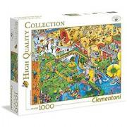 Clementoni Complex Sports 1000 Piece Jigsaw Puzzle