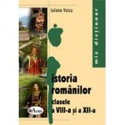 Mic dictionar de istoria romanilor pentru clasele a VIII-a si a XII-a
