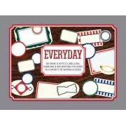 Everyday Labels - Sticker Box: 82 Home and Office, Labelling, Marking and Decorating Stickers in a Variety of Shapes and Sizes