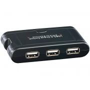 USB-Switch für 3 USB-Geräte an 2 PCs
