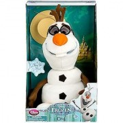 Disney Frozen EXCLUSIVE 10.5 Inch SINGING Plush OLAF [Open Box Package]