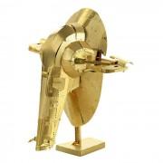 DIY 3D Brass Esclavo N Montado Modelo de juguetes educativos - Golden