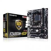 Gigabyte GA-F2A88XM HD3P, AMD A88 x, DDR3 FM2-Scheda madre Micro ATX, colore: nero
