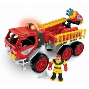 Fisher-Price Hero World Rescue Heroes Fire Truck With Billy Blazes by Fisher-Price
