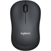 Logitech M220 Silent Click Wireless Mouse (Black)