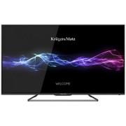 "Televizor LED Kruger&Matz 165 cm (65"") KM0265, Full HD, CI+ + Lantisor placat cu aur si argint cu 2 pandantive in forma de disc (cu mesaj de dragoste) + SIM Orange PrePay, 8 GB internet 4G, 5 euro credit"