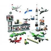 Lego City 9335 Set Aeropuerto y Espacio Contendor Educacional 1176 Piezas