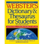 Webster's Dictionary & Thesaurus for Students by Merriam-Webster
