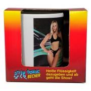 Cana termica strip-tease femeie