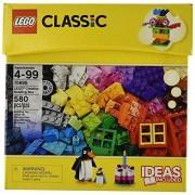 Classic LEGO 580 Pcs Ideas Included Creative Brick Box Building Toys
