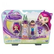 Little charmers famiglia - set 4 personaggi