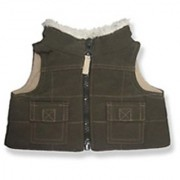 Brown Vest - 9029 Fits 15 - 16 bears includes Build a Bear The Bear Mill and Stuff your own Animals.