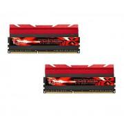 Mémoire LONG DIMM DDR3 DIMM 16 GB DDR3-2133 Kit F3-2133C9D-16GTX, série TridentX 16 GB CL9 11/11/31 2 barettes