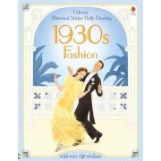 Historical Sticker Dolly Dressing 1930s Fashion by Hazel Maskell
